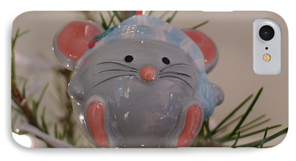 IPhone Case featuring the photograph Squeaky Xmas by Richard Reeve