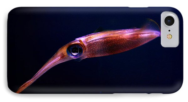 Squid In Pink IPhone Case