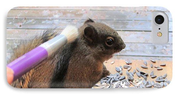Squirrel Gets A Massage IPhone Case