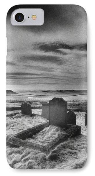 St Aidans Churchyard Phone Case by Simon Marsden