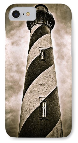 IPhone Case featuring the photograph St Augustine Lighthouse by Bill Howard