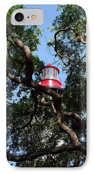 St Augustine Tree House Phone Case by Skip Willits