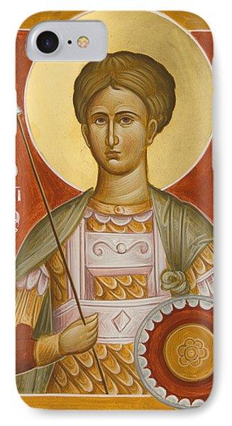 St Demetrios The Myrrhstreamer IPhone Case by Julia Bridget Hayes