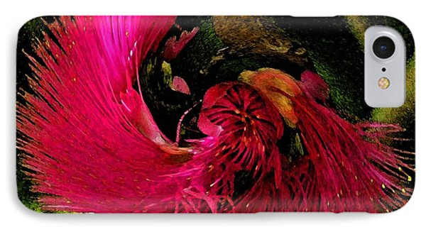 IPhone Case featuring the photograph St Kitts Flora by Cindy Manero