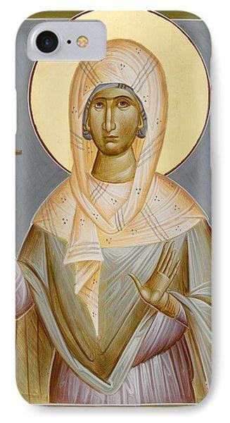 St Kyriaki IPhone Case by Julia Bridget Hayes