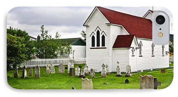 St. Luke's Church In Placentia Newfoundland Phone Case by Elena Elisseeva
