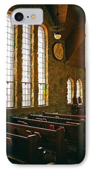 IPhone Case featuring the photograph St Malo Church by David Pantuso