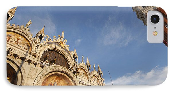 St. Markss Basilica And Campanile Off Phone Case by Trish Punch