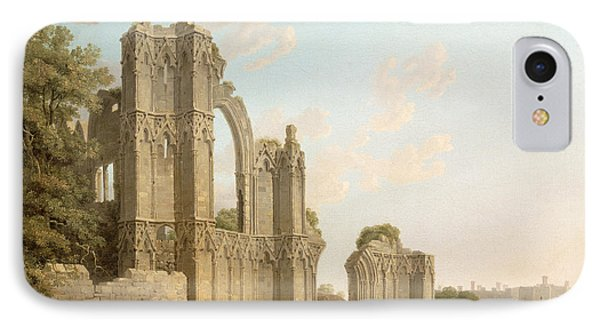 St Mary's Abbey -york IPhone Case by Michael Rooker