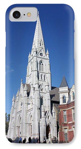 St. Mary's Basilica Phone Case by Kristin Elmquist