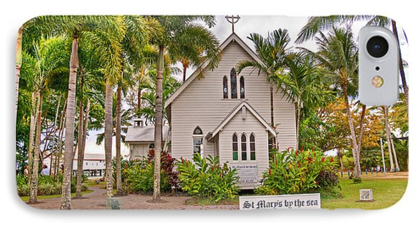 St Mary's By The Sea Phone Case by Bob and Nancy Kendrick