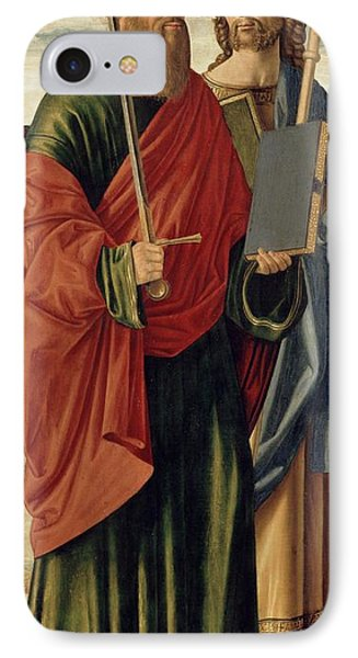 St. Paul And St. James The Elder Phone Case by Cristoforo Caselli