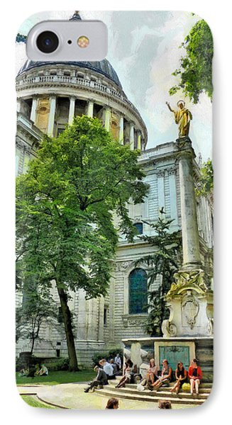 St Paul Is Giving His Blessing Phone Case by Steve Taylor