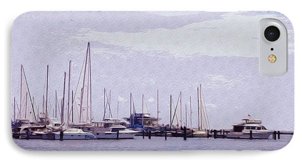 St. Petersburg Marina Phone Case by Bill Cannon