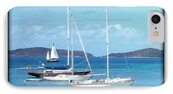 IPhone Case featuring the photograph St-thomas Virgin Islands Trio by Danielle  Parent