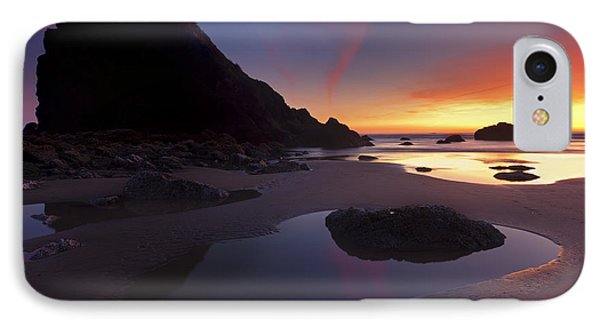 Stacked Reflections Phone Case by Mike  Dawson