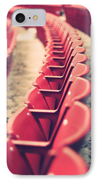 Stadium Seating IPhone Case by Vinnie Finn