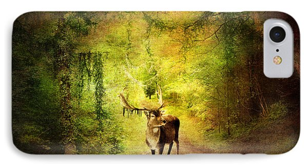 Stag Phone Case by Svetlana Sewell
