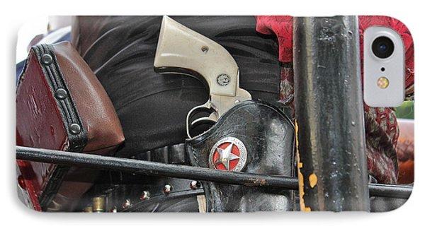 Stagecoach Guard IPhone Case by Bill Owen