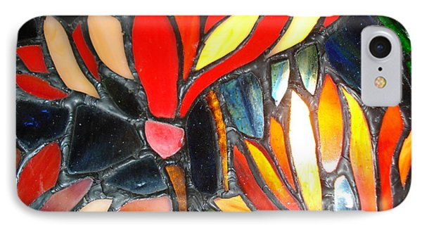 Stained Glass Four IPhone Case
