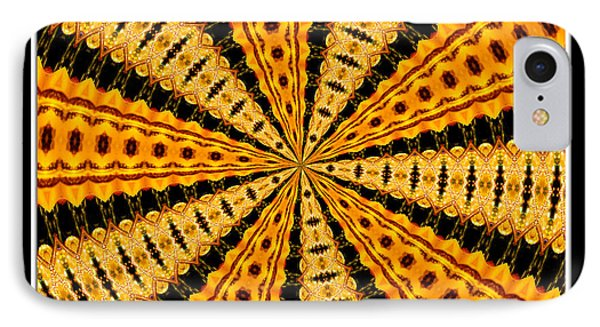 Stained Glass Kaleidoscope 37 Phone Case by Rose Santuci-Sofranko