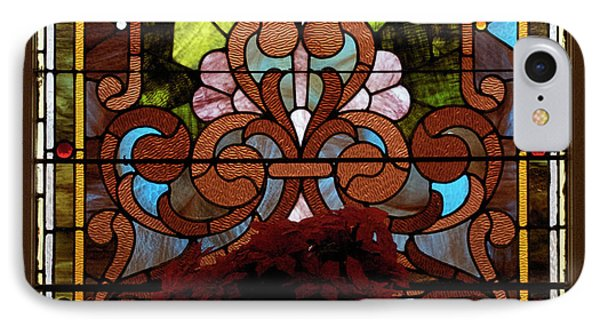 Stained Glass Lc 17 Phone Case by Thomas Woolworth