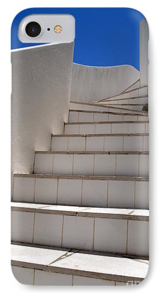 Stair To The Sky IPhone Case by Michael Canning