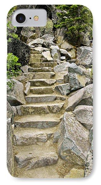 Staircase To Eagle Falls Lake Tahoe Phone Case by LeeAnn McLaneGoetz McLaneGoetzStudioLLCcom