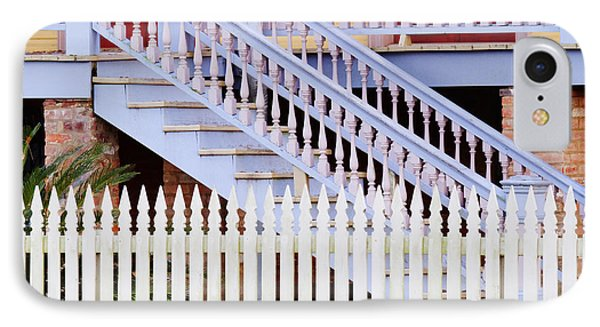 Stairs And White Picket Fence Phone Case by Jeremy Woodhouse