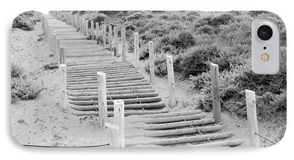 Stairs At Baker Beach IPhone Case by Shane Kelly