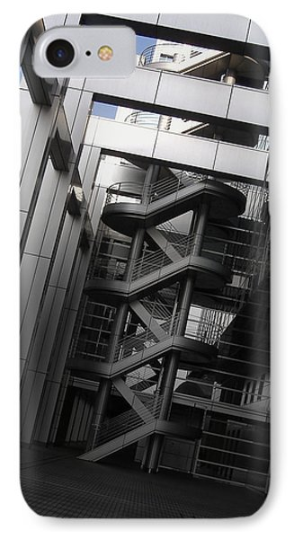 Stairs Fuji Building IPhone Case