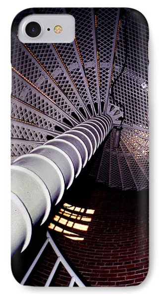 Stairs To The Light Phone Case by Skip Willits