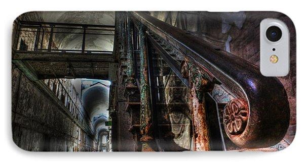 Stairway Of Terror - Eastern State Penitentiary Phone Case by Lee Dos Santos