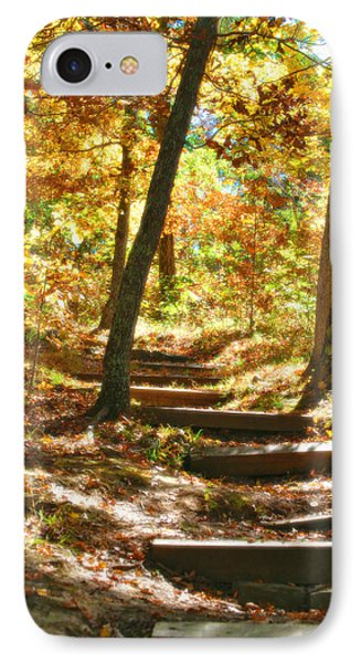 IPhone Case featuring the photograph Stairway To Heaven by Peggy Franz