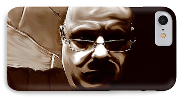 IPhone Case featuring the mixed media Stalker IIi  by Terence Morrissey