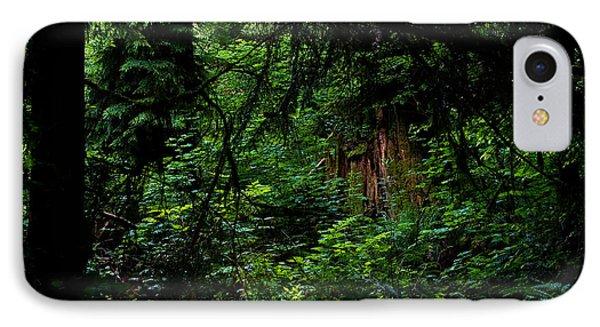 Stanley Park Trees 3 Phone Case by Terry Elniski