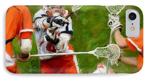 Stanwick Lacrosse 2 Phone Case by Scott Melby