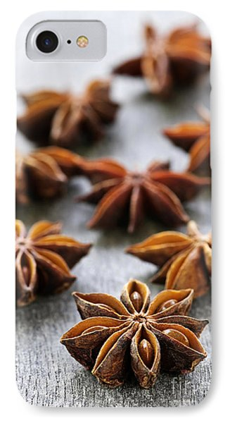 Star Anise Fruit And Seeds Phone Case by Elena Elisseeva