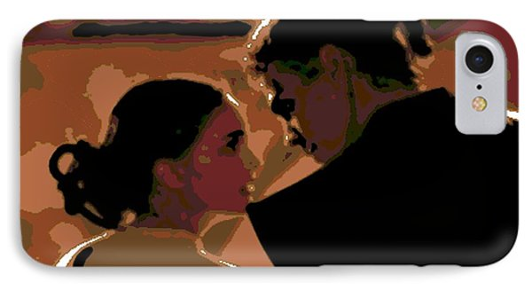 Star Crossed Lovers IPhone Case by George Pedro