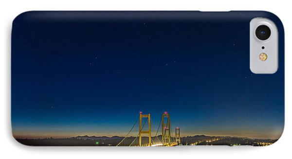 Star Night Over The Narrows IPhone Case by Ken Stanback