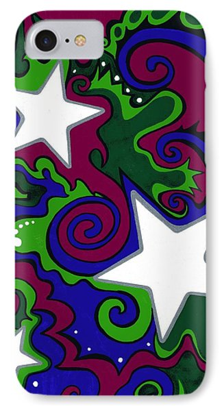 Star Slime Phone Case by Mandy Shupp