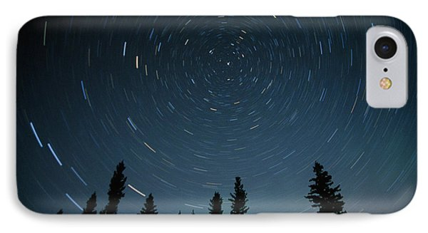Star Trails, Sandilands Provincial Phone Case by Mike Grandmailson