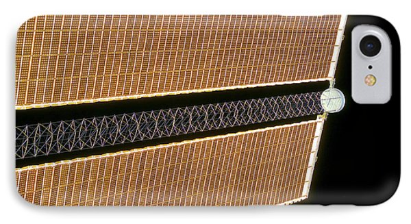 Starboard Solar Array Wing Panel Phone Case by Stocktrek Images