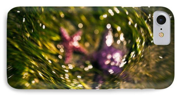 Starfish Swirl Phone Case by Venetta Archer