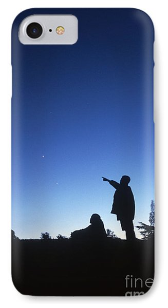 Stargazing Phone Case by Science Source