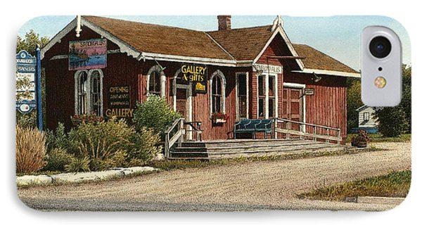 Station Gallery Fenelon Falls IPhone Case