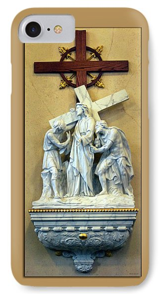 Station Of The Cross 02 Phone Case by Thomas Woolworth