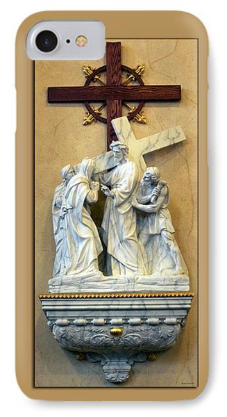 Station Of The Cross 04 Phone Case by Thomas Woolworth