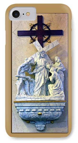 Station Of The Cross 08 Phone Case by Thomas Woolworth