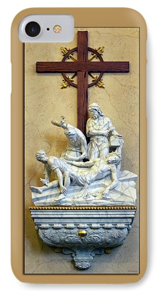 Station Of The Cross 11 Phone Case by Thomas Woolworth